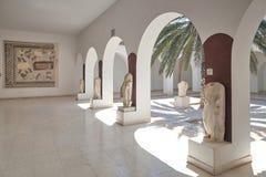 考古学博物馆的庭院在苏斯,有col的 免版税图库摄影