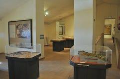 考古学和古生物学博物馆通行费洞 免版税库存图片