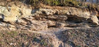 考古学岩石 库存照片