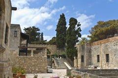 考古学希腊博物馆罗得斯 免版税库存图片