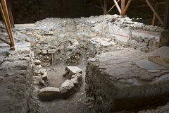 考古学希腊站点 库存图片