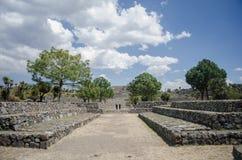 考古学废墟在墨西哥 库存图片