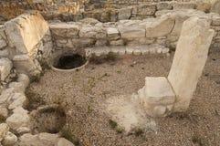 考古学废墟 库存照片