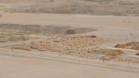 考古学挖掘在埃及 股票录像