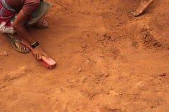 考古学挖掘 免版税图库摄影