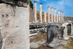 考古学站点在土耳其 库存照片