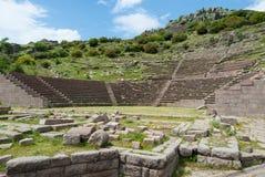 考古学站点在土耳其 库存图片
