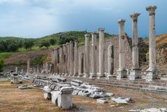 考古学站点在土耳其 免版税库存照片