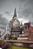 考古学站点,阿尤特拉利夫雷斯,泰国 免版税库存照片