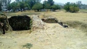 考古学站点:Ixtépete,瓜达拉哈拉 库存照片
