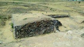 考古学站点:Ixtépete,瓜达拉哈拉 库存图片