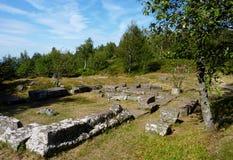 考古学站点 库存图片