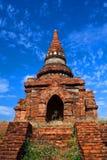 考古学bagan缅甸区域 免版税图库摄影