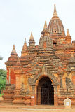 考古学bagan缅甸区域 免版税库存照片
