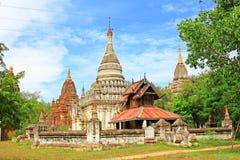 考古学bagan缅甸区域 免版税库存图片