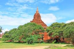 考古学bagan缅甸区域 图库摄影