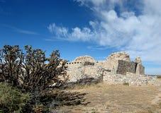 考古学gran quivera站点 库存照片