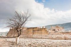 考古学knossos站点 库存图片