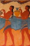 考古学knossos站点 免版税库存图片