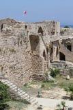 考古学kyrenia站点 免版税图库摄影