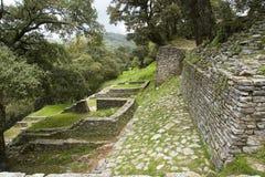 考古学ranas区域 库存图片