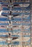 考姆翁布寺庙壁画  库存图片