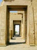 考姆翁布,埃及寺庙, BC约会2th世纪 免版税库存图片