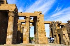 考姆Ombo寺庙,埃及 免版税库存图片