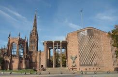 考文垂大教堂 免版税图库摄影