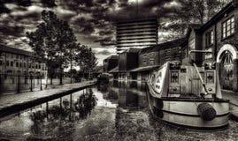 考文垂运河水池 库存照片