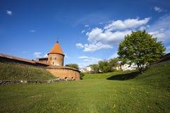 考纳斯城堡,立陶宛 免版税图库摄影