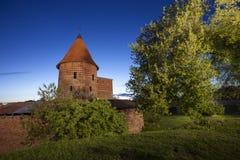 考纳斯城堡,立陶宛 库存图片