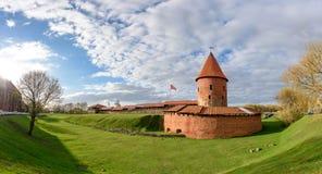 考纳斯城堡,立陶宛 图库摄影