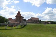 考纳斯城堡 免版税库存图片