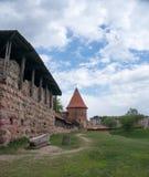 考纳斯城堡 免版税库存照片