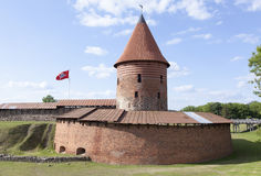 考纳斯市城堡 库存照片