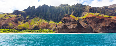 考艾岛全景 库存照片