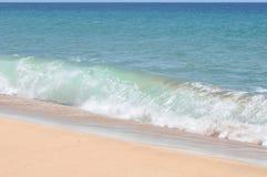 考艾岛天堂海滩 库存照片