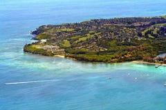 考艾岛岸 免版税库存图片