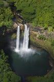 考艾岛wailua瀑布 库存照片