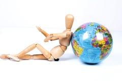 考虑地球 免版税库存照片
