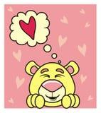 考虑爱的熊 库存图片