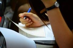 考试 免版税库存照片