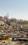 死者开罗埃及城市和城堡  免版税库存照片