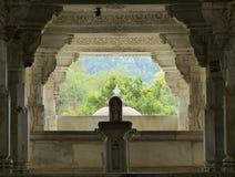 耆那教的寺庙, Ranakpur 库存图片