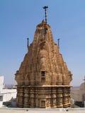 耆那教的寺庙udaipur 库存照片