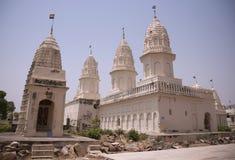 耆那教的khajuraho templbe 库存图片