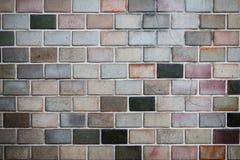 耐洗的砖墙 免版税库存图片