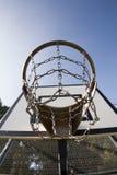 耐用篮球篮 免版税库存图片