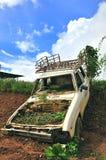 耕种皇家项目汽车,泰国 免版税库存照片